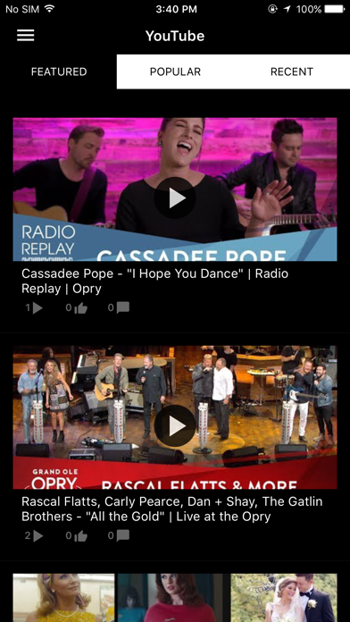Grand Ole Opry App Screenshot 5
