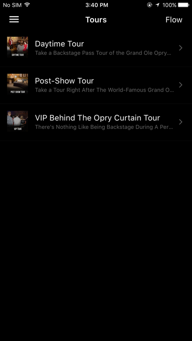 Grand Ole Opry App Screenshot 3