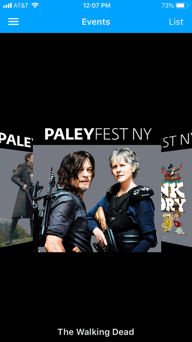 The Official Paley Center Mobile App 3