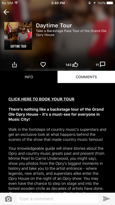 Grand Ole Opry App Screenshot 4
