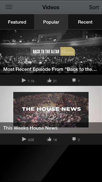 The House Modesto App Screenshot 2