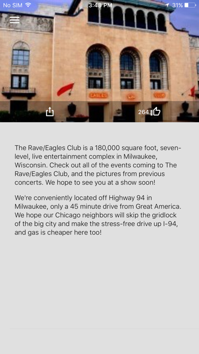 The Rave Eagles Club App Screenshot 4