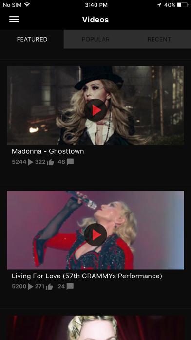 Madonna App 2