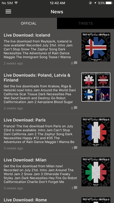 Red Hot Chili Peppers App 3