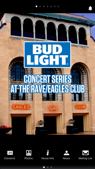 The Rave Eagles Club App Screenshot 1