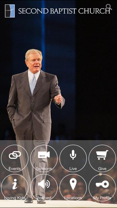 Second Baptist Church App Screenshot 1